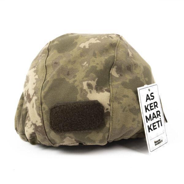 yeni tsk kamuflaj balistik kompozit kask kilifi askeri malzeme