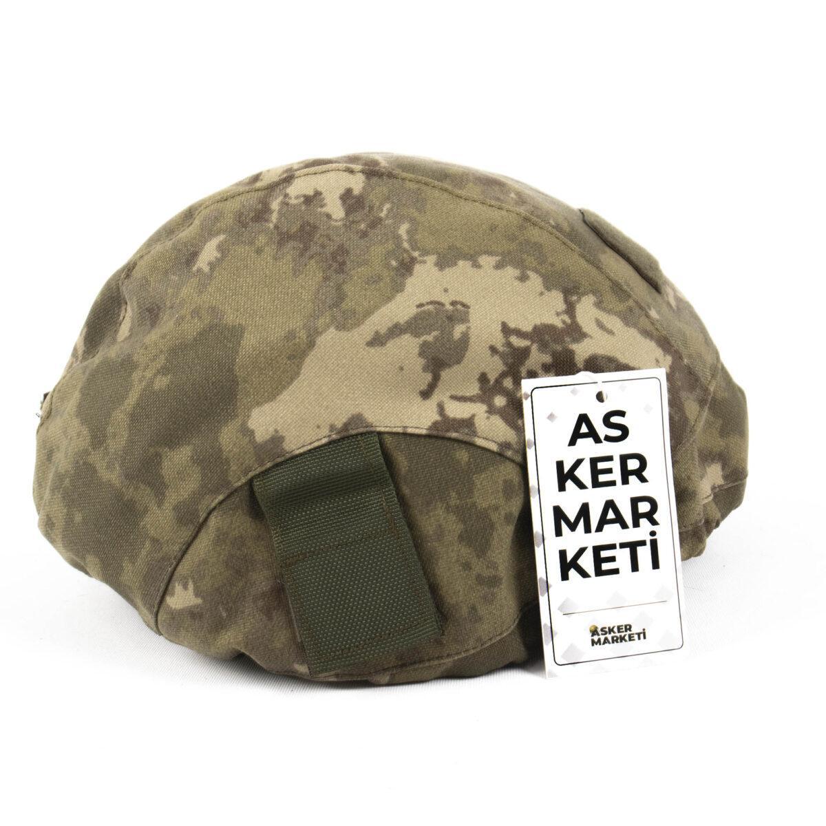 yeni tsk kamuflaj balistik kompozit kask kilifi askeri malzeme2
