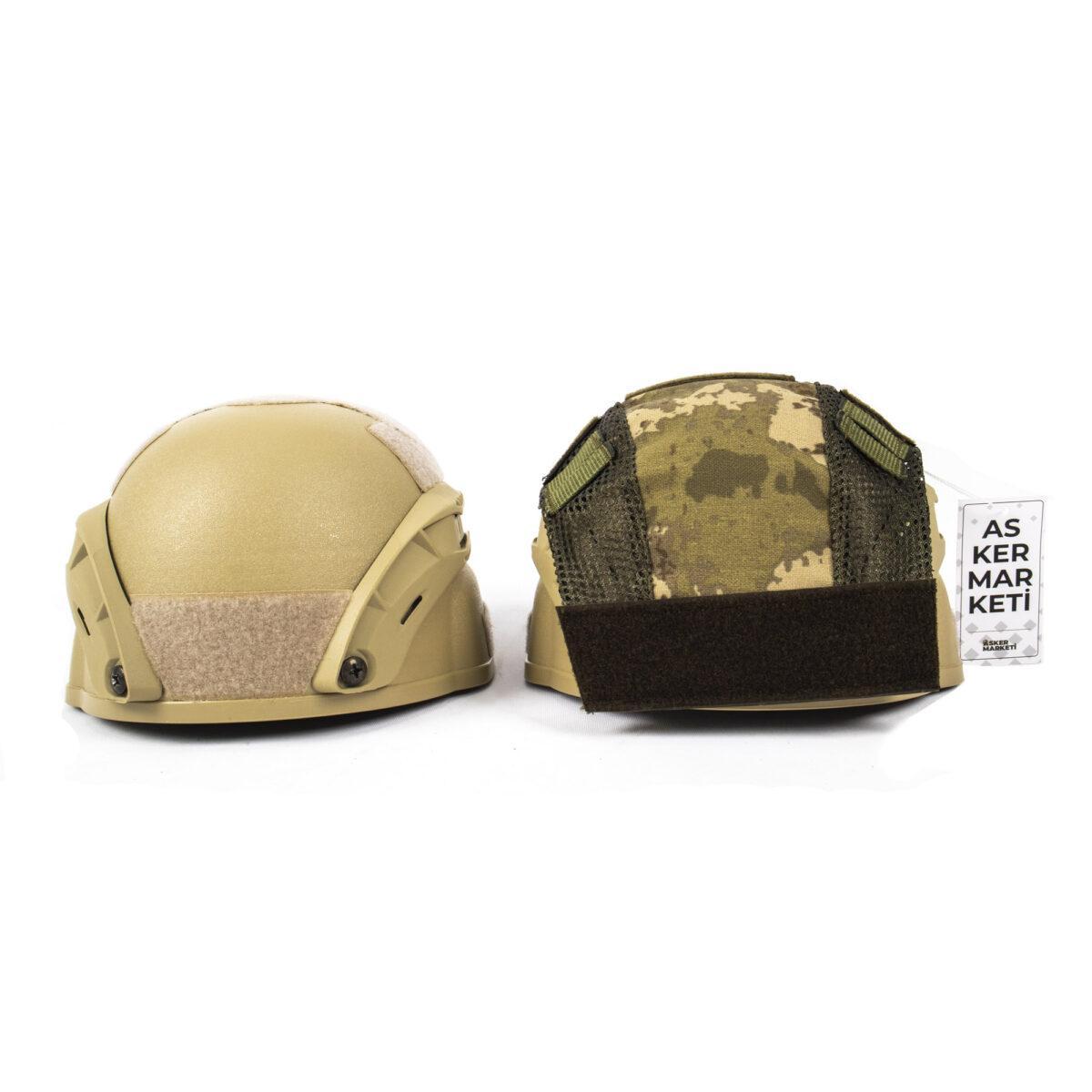 yeni tsk kamuflaj kask kilifi kisa askeri malzeme