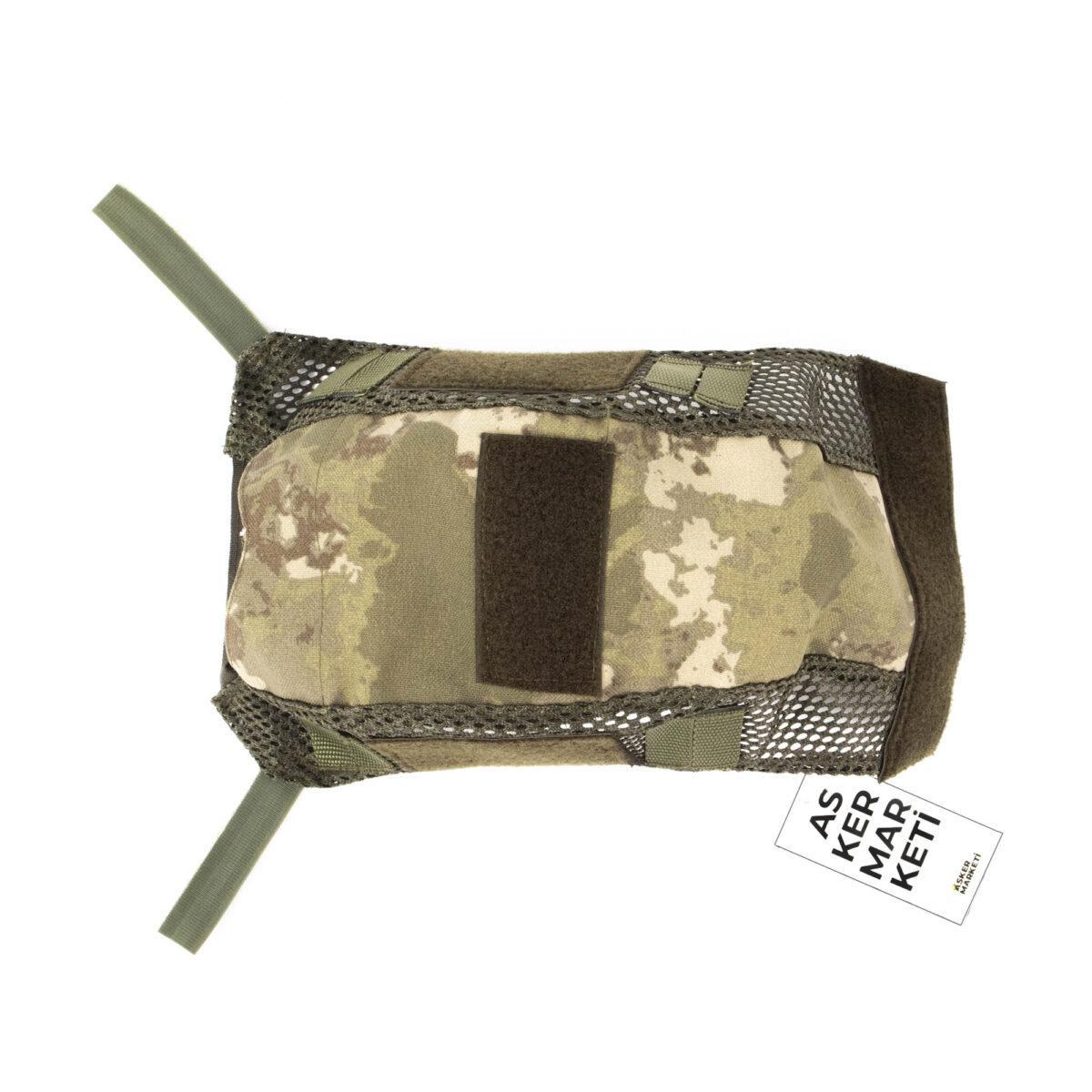 yeni tsk kamuflaj kask kilifi kisa askeri malzeme2